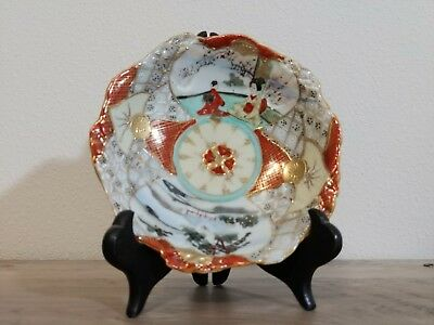 Excellent Japanese Satsuma Bowl Marked