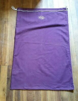 Vintage Large Anti Tarnish Cloth Bag Tarnprufe 24 X30 Made
