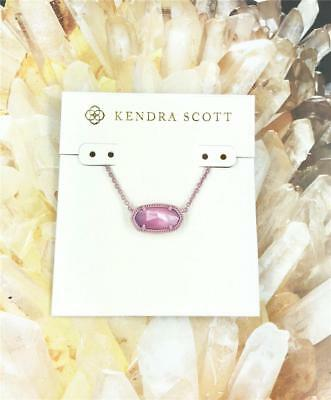 NEW Kendra Scott Elisa Mother of Pearl Lilac Necklace