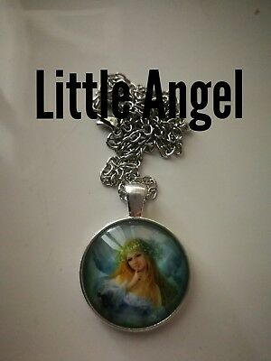 Code 432 Little Angel Infused Necklace Holy Communion Christmas Confirmation God