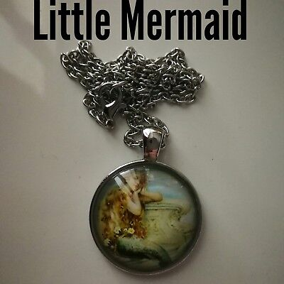 Code 432 Little Mermaid Infused Necklace Holy Communion Christmas Confirmation