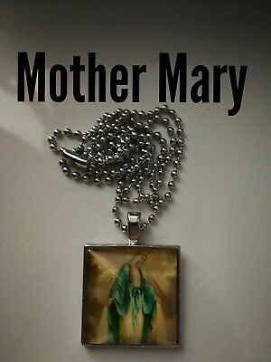 Code 402 Mother Mary Infused Necklace Confirmation Gift Holy Communion Christmas