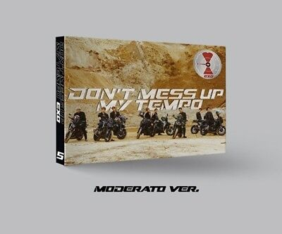 EXO-[Don't Mess Up My Tempo]5th Album Moderato CD+Booklet+Card+PreOrder+etc+Gift