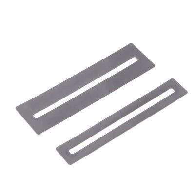 Stainless Steel Fretboard Fret Protector Fingerboard Guards For Guitar Bass Luthier Tools 152 X 12.5mm Hand Tool Sets