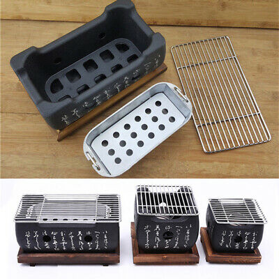 Japanese Korean Food Carbon Furnace Barbecue Stove Cooking Oven Alcohol Grill