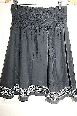 AS New Ladies RIPE  Maternity black and white SKIRT size XS