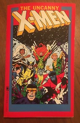 The Uncanny X-Men First Printing 1990 Book, From Marvel Xmen Comics!!