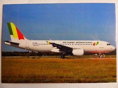 Air Guinee International  Airbus A 320   5H-Mwh