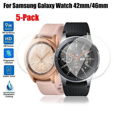 For Samsung Galaxy Watch 42mm 46mm Tempered Glass Screen Protector Films Hot