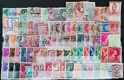 Belgium Classic Vintage Used BoB Stamps Collection Lot # 3