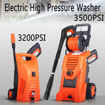 3200/3500PSI Electric High Pressure Washer Water Cleaner Gurney Pump Hose Tool