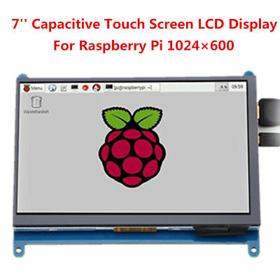 7'' inch HDMI IPS LCD Display Monitor Touch Screen 1024×600 For Raspberry Pi