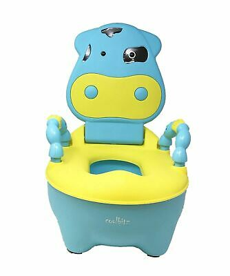 SMART KIDS BABY CHILD TODDLER POTTY LOO TRAINING TOILET SEAT Commode blue Yellow