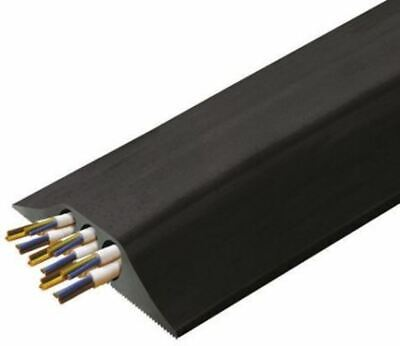 Vulcascot Cable Cover, 23mm (Inside dia.), 178 mm x 4.5m, Black, 3 Channels