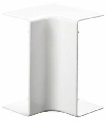 Schneider Electric uPVC 100 x 50mm Cable Trunking Internal Angle Consort