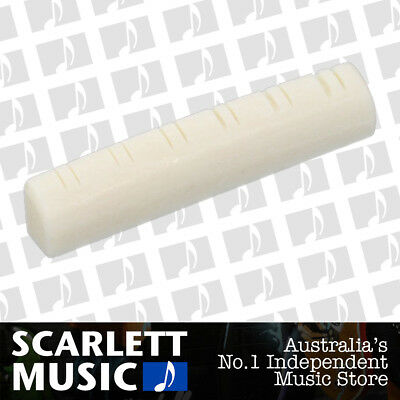AMS Guitar Nut Slotted Saddle For Acoustic Steel Guitar 12 String - 48mm x 9mm