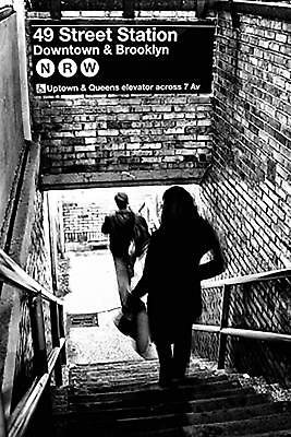 SUBWAY SHADOWS - NEW YORK CITY POSTER 24x36 - NYC 10245