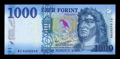 B-D-M Hungria Hungary 1000 Forint 2018 Pick New SC UNC