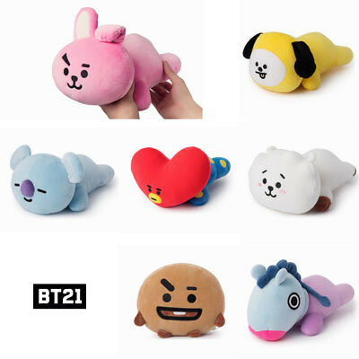 BTS BT21 Official Authentic Goods Soft Mini Pillow Cushion 7Characters+Track Num