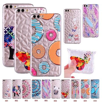 Glitter Bling Thin Silicone Soft Case Cover For Huawei P Smart P20 Lite Y5 2018
