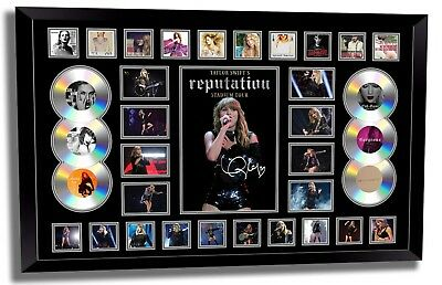 Taylor Swift 2018 Reputation Tour Signed Limited Edition Framed Memorabilia #5