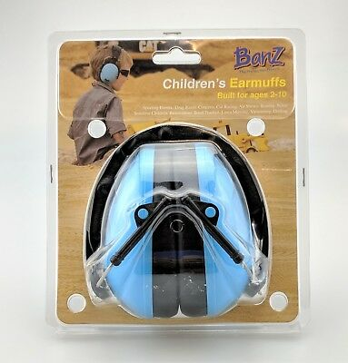 Baby Banz EarBanZ Kids Hearing Protection Blue Factory Sealed
