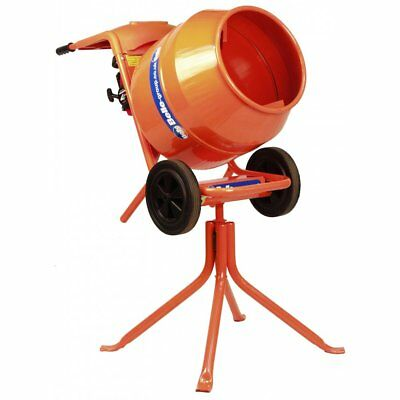Belle Minimix 150 Drum Cement Concrete Mixer Electric 240V Including Stand New