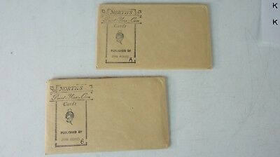 2 x Rene North North´s Paint your own Cards Military Uniforms Vorlage  K-288