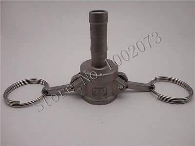 """Homebrew Stainless 316 Camlock coupling C Type 1/2"""" Barb Wrench type fast joint"""