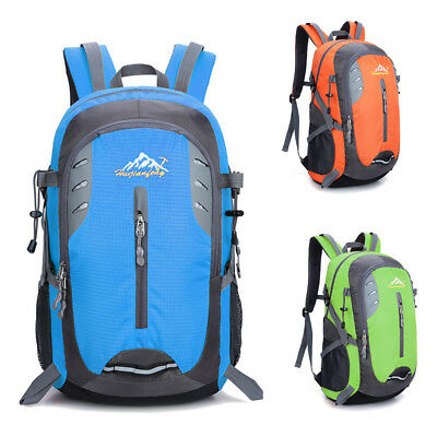 40L Large Waterproof Camping Hiking Backpack Outdoor Travel Luggage Rucksack Bag