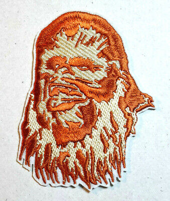 """Star Wars Chewbacca/Wookie 4"""" Embroidered Patch- USA Mailed (SWPA-FC-29)"""