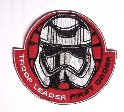 Star Wars Force Awakens 10.8cm Truppe Leiter Stickerei Patch-Usa Mailed (SWPA FA