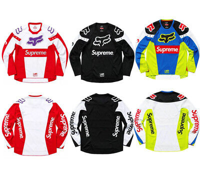 Mens FOX Motorcycle Jerseys Mountain Bike Motocross Long Sleeve T- Shirt