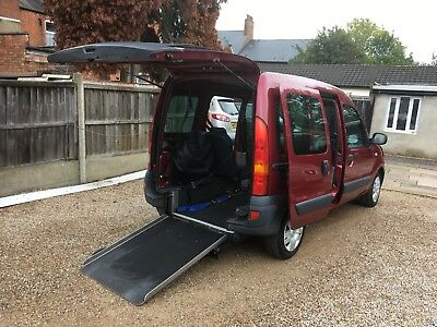 Renault Kangoo 1.6 16v Authentique 5dr, Wheelchair accessible Ex Motability