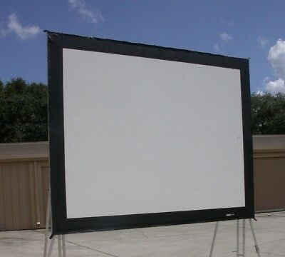 Da-Lite 10.5x14 Truss Frame Front Projection SCREEN SURFACE ONLY Great Condition