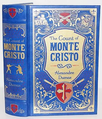 The Count of Monte Cristo by Alexandre Dumas Book Hardcover Leather Bound NEW