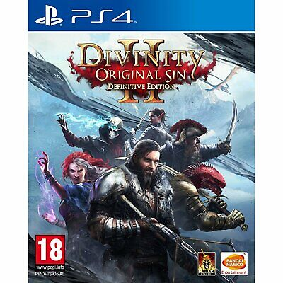Divinity : Original Sin 2 Definitive Edition (Eng/Chi Ver) For Playstation 4 PS4