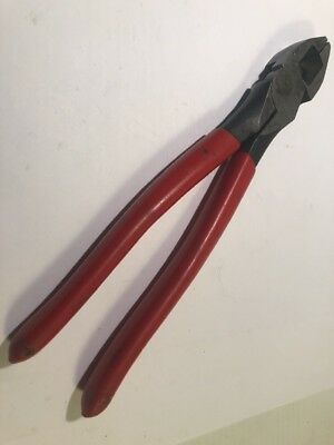 Snap-On 59HLP Lineman's Pliers / Cutters Good Used Shape