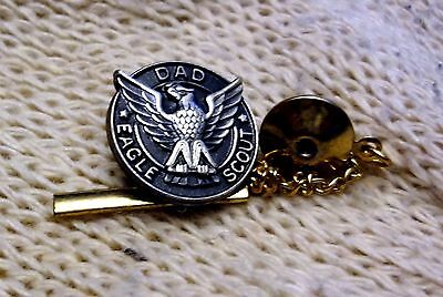 Be Prepared with this great DAD EAGLE SCOUT PIN - Boy Scouts of America
