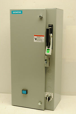 Siemens 17CSA92BF Size 0 Combination Starter Disconnect Switch Non-Fusible NIB