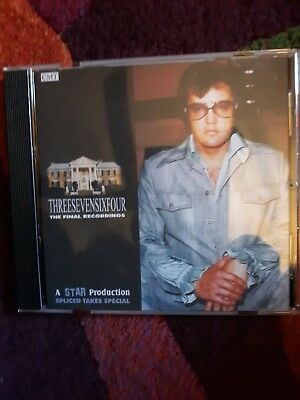 Elvis Presley: 3764 THE FINAL RECORDINGS Spliced Takes Special CD STAR/CMT