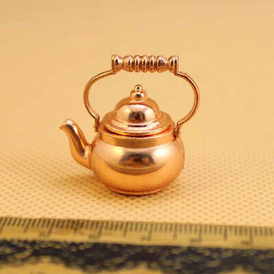 Retro Kettle Pot Open Lid Dollhouse Miniature Re-ment 1:12 Scale Fairy Doll ~