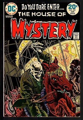 House Of Mystery #221 VF- 7.5 DC Bronze Age Horror 1974 Wrightson cover/story!!!