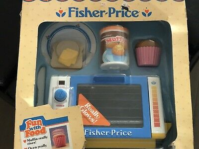 With Fun JouetsJeux 1987 Box Price Fisher Food Anciens Vintage eE9WHY2ID
