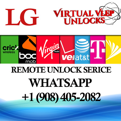 Remote SIM Unlock Service LG G7 ThinQ & G710PM Sprint Boost Virgin