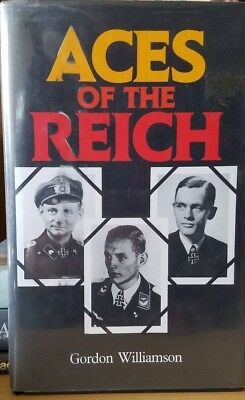 Aces Of The Reich by Gordon Williamson singed by Gunther Rall