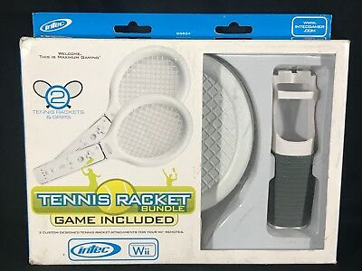 Intec Nintendo Wii Tennis Racket Bundle G5824
