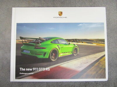 Porsche 911 (991.2) GT3 RS Hardcover US Dealer Brochure/Book 116 pages NEW