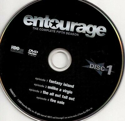 Entourage HBO (DVD) Season 5 Disc 1 Replacement Disc U.S. Issue Disc Only #56A
