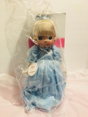 """Precious Moments  Dolls Collection Cinderella 9"""" Signed By The Doll Maker"""